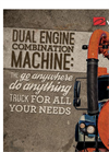 Dual Engine Combination Sewer Cleaner
